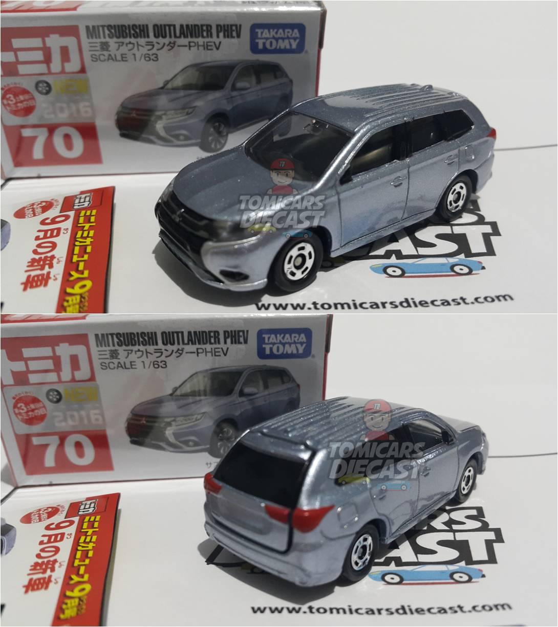 Mitsubishi Outlander Phev Silver Tomicars Diecast Shop